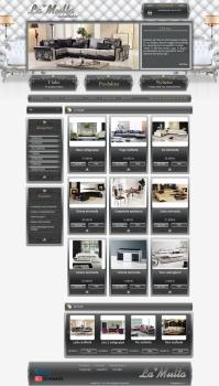 Норвежский интернет магазин элитной мебели LaMulta