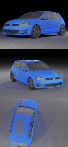 Создание макета в векторе для Рестайлинга авто №1