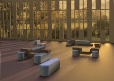 Создание предметов мебели для лаундж зоны