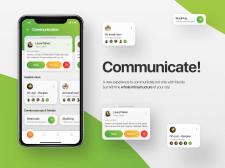 Приложение для коммуникации с людьми рядом