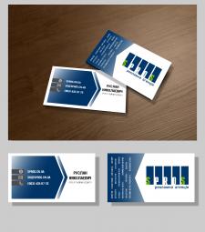 дизайн визитки для сотрудника РА SPROS