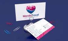 Mandy Travel. Визитка