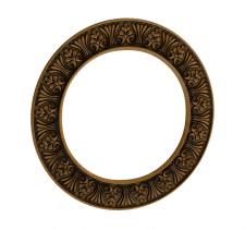 Рамка для зеркала круглая