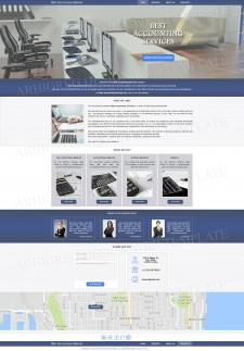 Дизайн сайта для Бухгалтерской компании