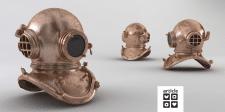 Подводный шлем для Дизайн Ателье Артикль