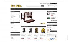 Интернет магазин посвящённый детским товарам