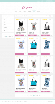 Citymom — shop page (grid view)