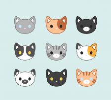 Иконки котиков
