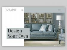 Дизайн сайта Sherrill-furniture