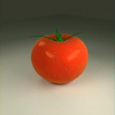 Рендер фотореалистичного помидора