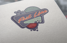 "Логотип для бутика кофе ""Fast Line"""