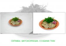 Обработка фотографий еды