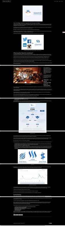 Обзор на ресурс Steemit
