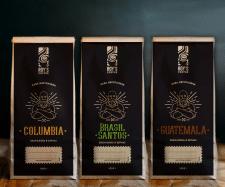 Разработка дизайна кофе ROY'S ручной обжарки