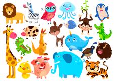 2D персонажи