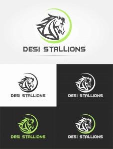 Логотип для команды по крикету