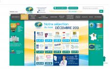 Сайт для сети аптек (Франция)