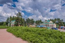 Фотография. Парк Софиевка. Вид на вход с Киевской