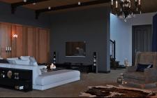 Визуализация интерьера летнего домика