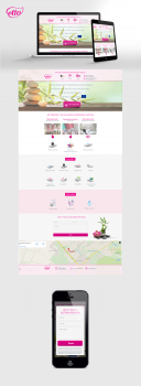 "Landing page ""Etto"""