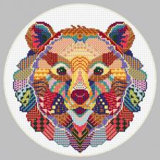 Схема для вышивки (медведь)