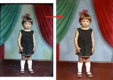 Ретушь фотографии со старой негативной плёнки