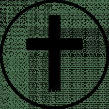 Хрест (чорный)