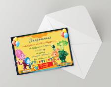 Приглашение на детское день рождения