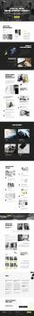 Верстка промо-страницы компании
