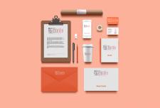 Создание логотипа, конверт, визитка.