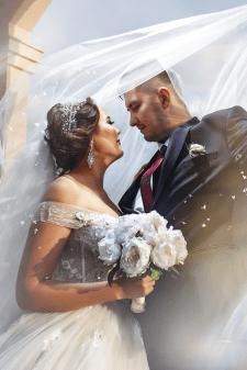 Худ. обработка свадебного фото