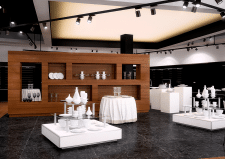 Визуализация торгово-выставочного павильона