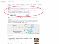 Настройка Google Ads для Доставки Суши