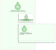 Фирменный стиль/Corporate identity for a lawyer