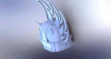 Модель шлема для компьютерной игры