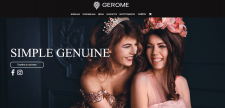 Сайт для інтернет-магазину парфумерії Gerome