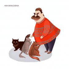 Иллюстрация. Персонаж
