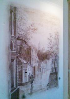 Роспись жилого помещения