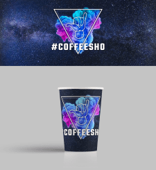 Paper cups for COFFEESHO