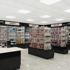 Визуализация магазина косметики