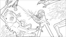 Rick & Morty (розмальовка ІІ)