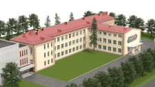 Моделирование и визуализация школы