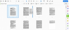 Изменение положения страниц в PDF