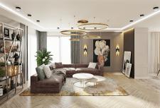 Дизайн интерьера кухни-гостиной г. Минск