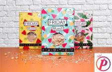 Дизайн упаковки для сухих сніданків FRIDAY