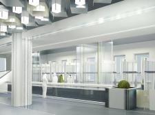 Дизайн интерьера вестибюля института им.Каразина  (Зона раздевал