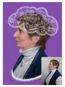 Уч.  физики - Портрет по фото,ретушь,омоложение