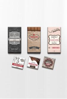 Разработка упаковки шоколада (варианты на выбор)