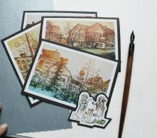 листівки - Архітектура старого міста