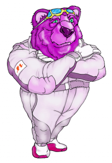 BEAR PURPLE